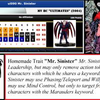Ret-Con: Mr. Sinister (ULT090) (V7.1)