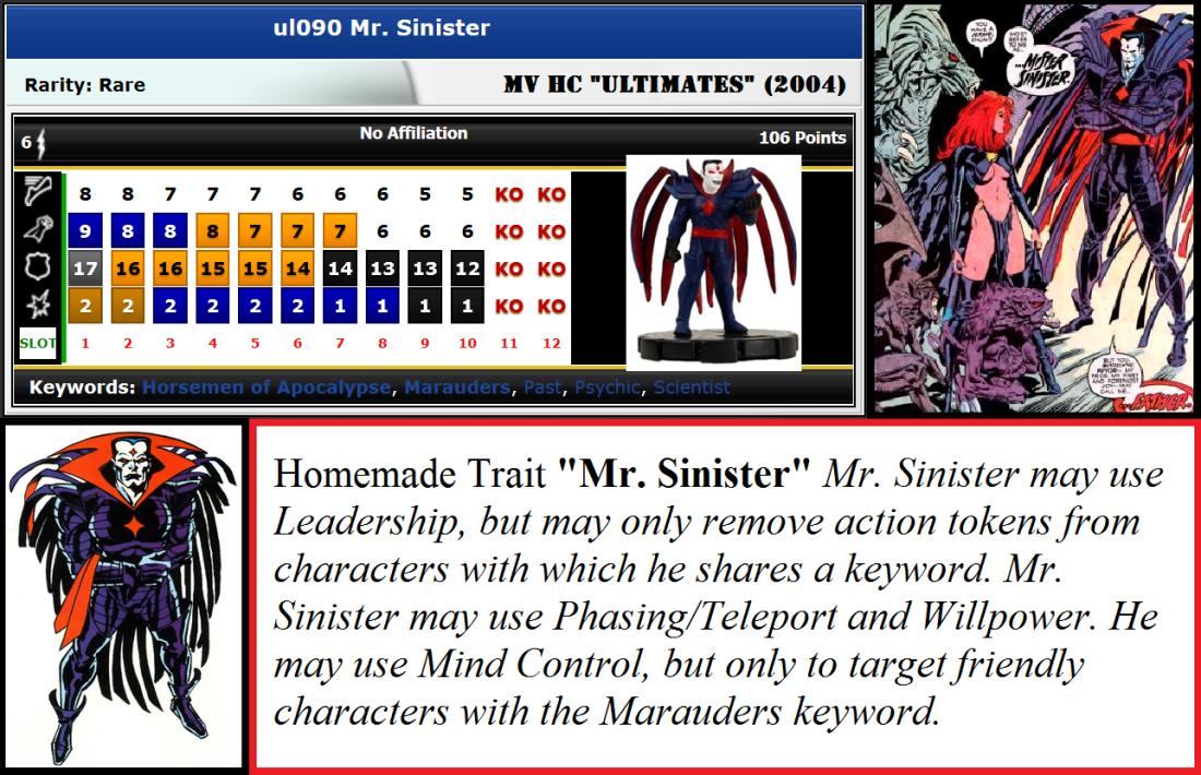 Ret-Con UL090 Mr Sinister