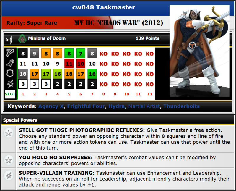 CW048 Taskmaster 2012