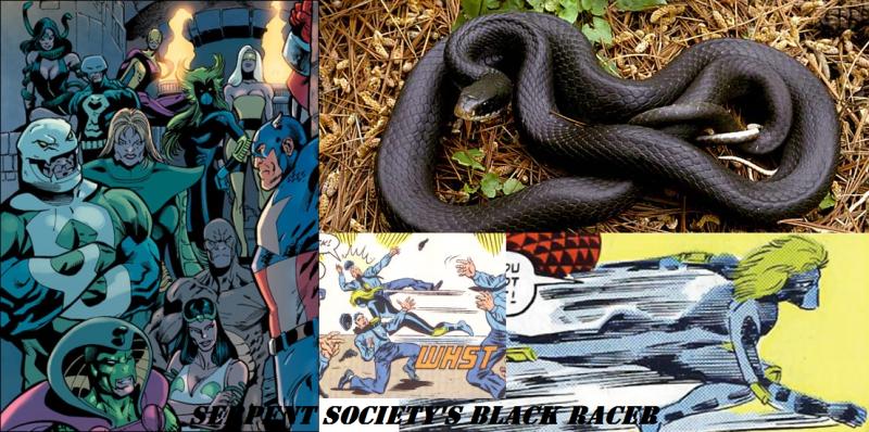 Black Racer SerpSoc Mash-Up