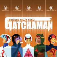 Wish-List: Science Ninja Team Gatchaman (v1.1)