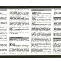 Marvel HeroClix Ret-Con: Korvac (SUPERNOVA, 2006) (v5.2)