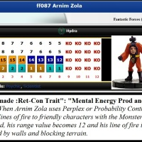 "Marvel HeroClix ""ReClix"" Wish-List & Ret-Con (FANTASTIC FORCES, 2005): Arnim Zola (v11.2)"