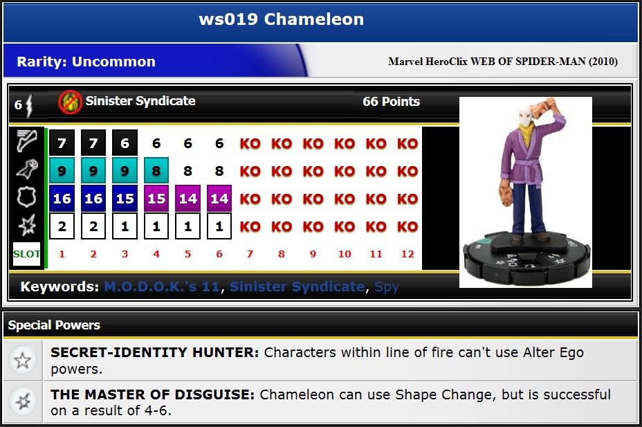 WSM019 Chameleon