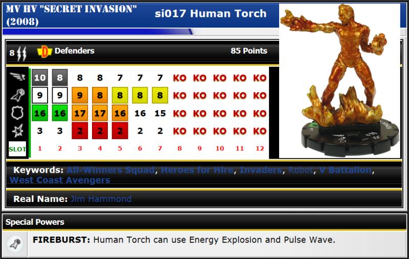SI017 Human Torch
