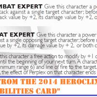 HeroClix Tinkering: Close Combat Expert & Ranged Combat Expert (v1.1)