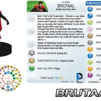 "DC HeroClix SUPERMAN/WONDER WOMAN: ""Brutaal"" preview over on heroclix.com"
