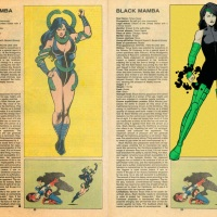 Marvel HeroClix Wish-List: Black Mamba (v1.1)