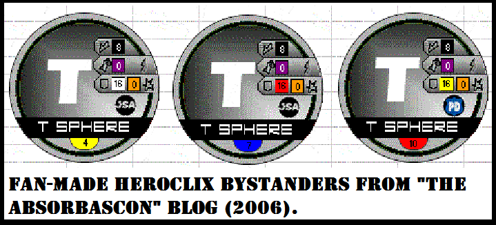 HeroClix T-Spheres by The Absorbascon