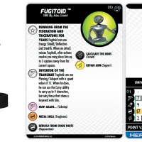 Teenage Mutant Ninja Turtles: Heroes In A Half-Shell - Fugitoid - HeroClix by Wizkids Games