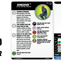 TMNT HeroClix: Heroes in a Half Shell - Shredder - HeroClix by Wizkids Games