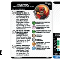 Marvel HeroClix: Deadpool & X-Force - Hulkpool…